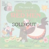 The story of THE LITTLE RED HEN   [ A DISNEYLAND RECORD AND BOOK ]