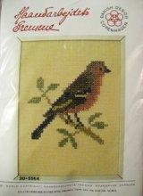 Haandarbejdets Fremme 刺繍キット(30-5564) 鳥 (BR)