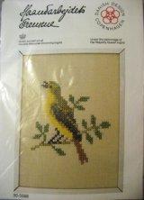 Haandarbejdets Fremme 刺繍キット(30-5564) 鳥 (GR)