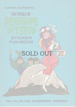 画像1: THE PERILS OF PENELOPE PITSTOP   STICKER FUN BOOK
